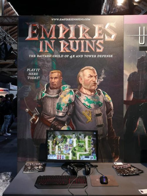 Empires in Ruins – Rezzed (UK) and GDD (Estonia)